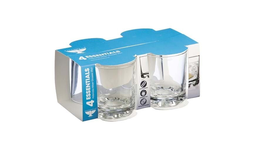 Ravenhead Essential Hobnobs Mixer glasses