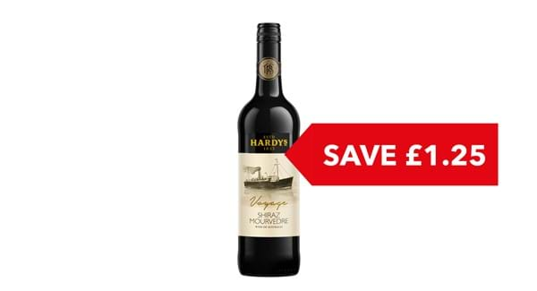 SAVE £1.25 | Hardy's Voyage Shiraz 75cl