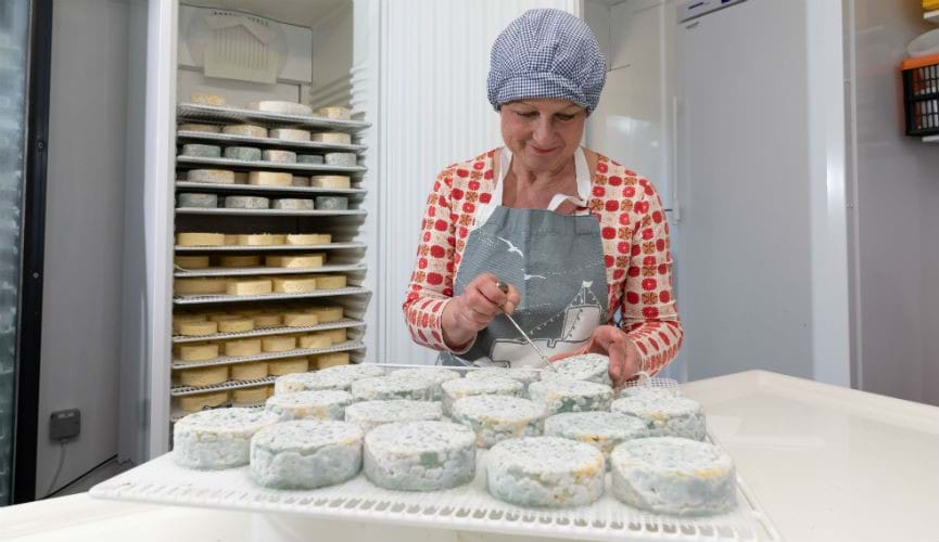 Torteval cheese: Meet the producer