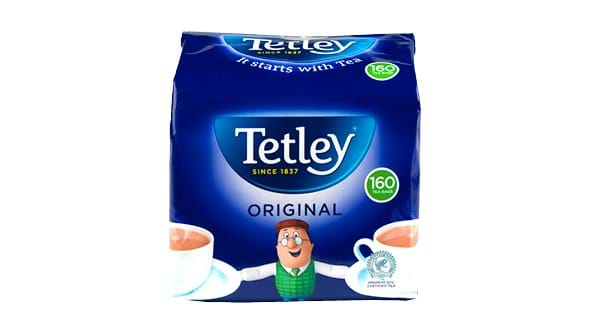 HALF PRICE | Tetley 160 Original Tea Bags 500g