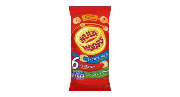HALF PRICE |  Hula Hoops 6 Pack