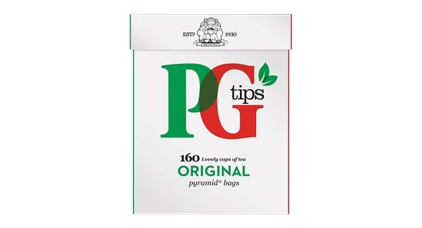 HALF PRICE | PG Tips 160 Pyramid Tea Bags