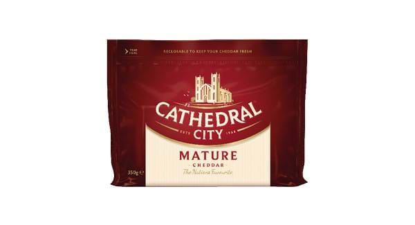 SAVE £2.00 | Cathedral City Cheddar 300/350g
