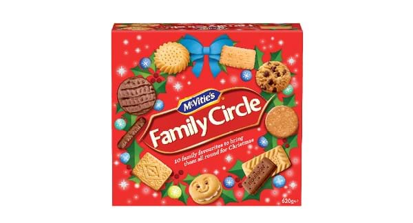 HALF PRICE | McVities Family Circle Assorted Biscuit 620g