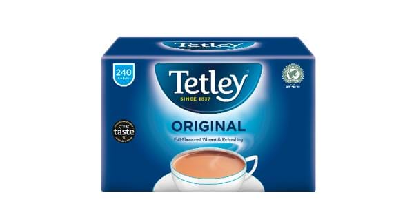 HALF PRICE | Tetley 240 Resealable Tea Bags 750g