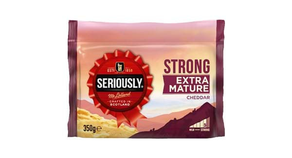 HALF PRICE | Seriously Strong Cheddar 300g/ 350g