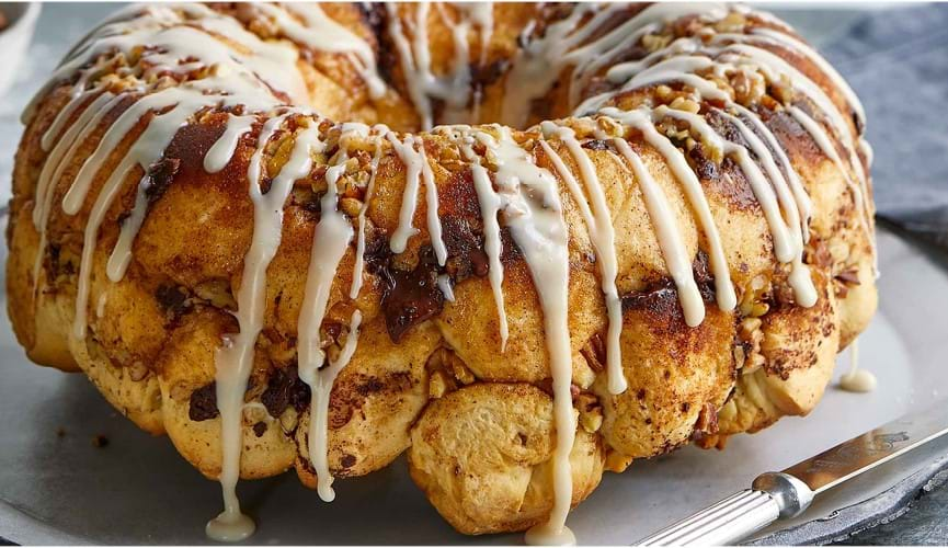 Chocolate rum monkey bread