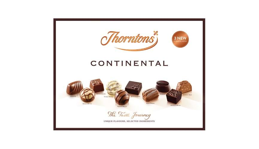 Module - Thorntons Continental Boxed Chocolates (284G)